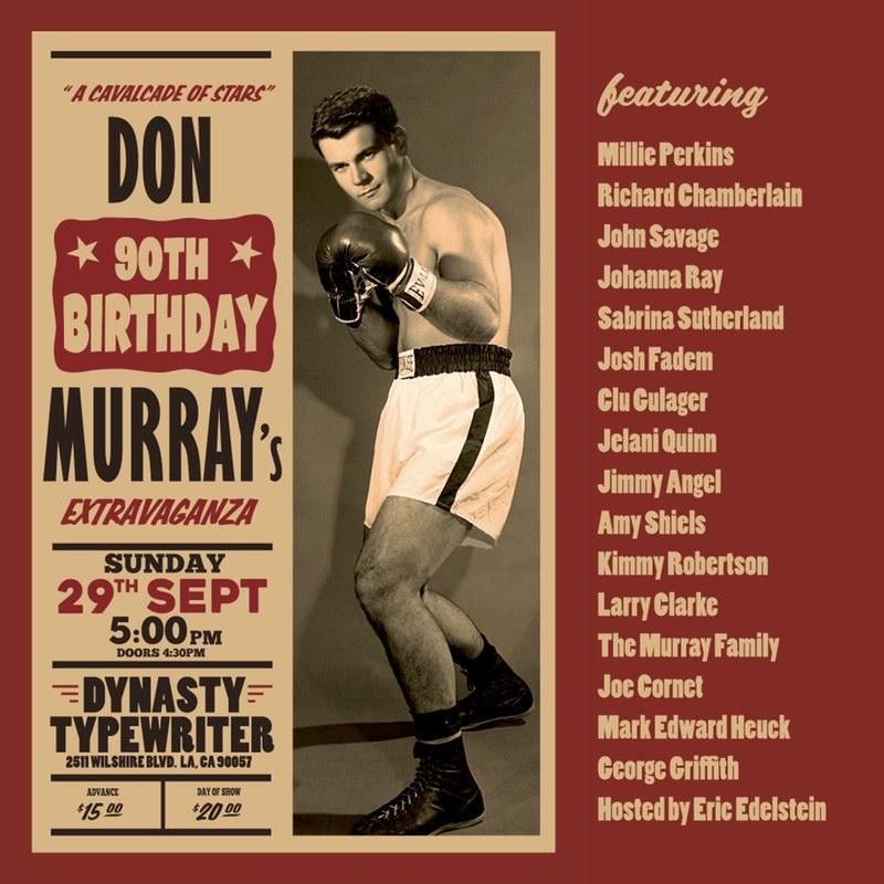 Don Murray's 90th Birthday